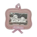 Medalla de Cuna 51894/01R Ángeles de la Guarda Rosa