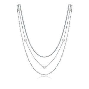 Collar de Mujer Viceroy Jewels 75204C01000 Acero